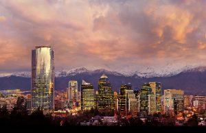 Santiago desde el cielo