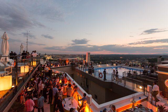 Inauguración De La Terraza Del Hotel Emperador Meet In