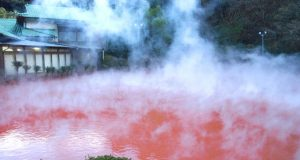 Blood Pond Hell Hot Spring