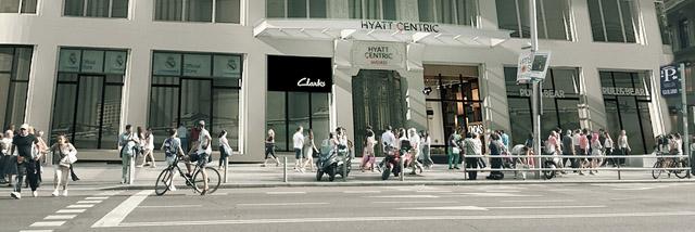 Hyatt Centric Gran Via Madrid_fachada