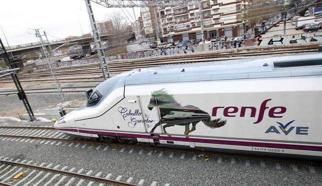 AVE 2018 Castellón Murcia Granada Burgos Galicia