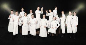 Finnair menú turista Culinary Team of Finland