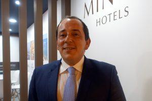 Jorge Lopes, director Comercial pafra Europa de MInor Hotels