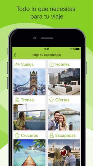 Viajes El Corte Inglés App