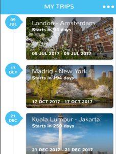 BCD Travel App