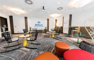 Hilton Diagonal Mar Barcelona renovación salones