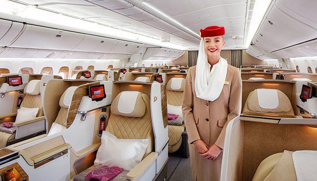 Emirates nueva business class