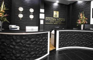 golden tower city center by sercotel