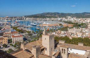 Palma de Mallorca desde las alturas