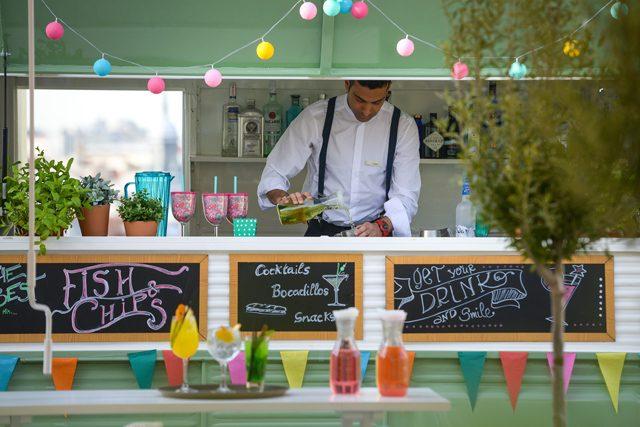 Vincci The Mint terraza foodtruck
