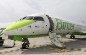 binter vuelos Canarias Baleares