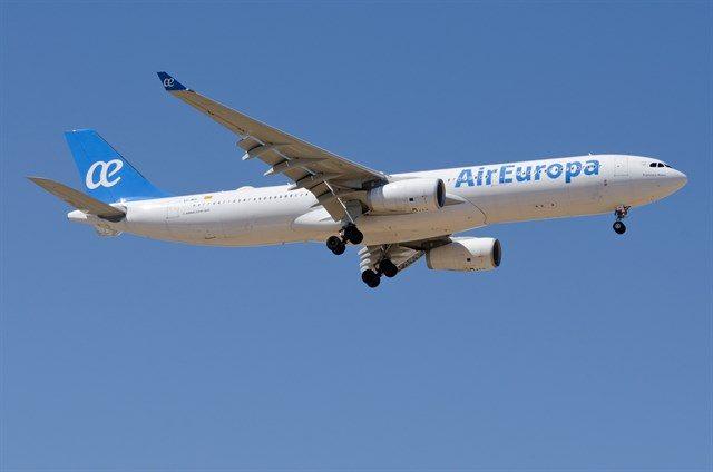 Air Europa segregación de residuos