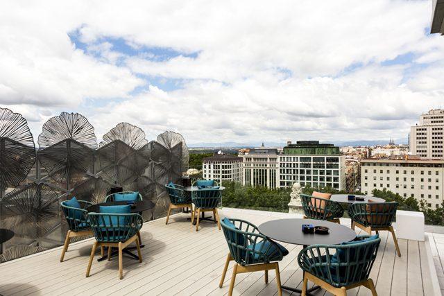 Vp Plaza España Design Inauguración Del Ginkgo Sky Bar
