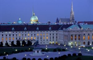 Palacio Imperial con vista al Museo de Historia Natural