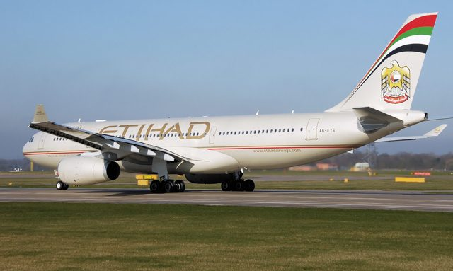 etihad airways barcelona abu dhabi