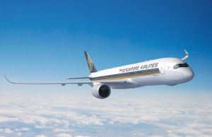 Singapore Airlines A350 vuelo Los Angeles