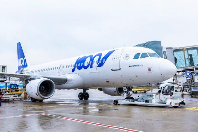 Joon Air France ruta Madrid Paris