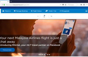 Malaysia Airlines MHchat