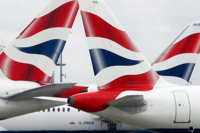 british airways robo de datos