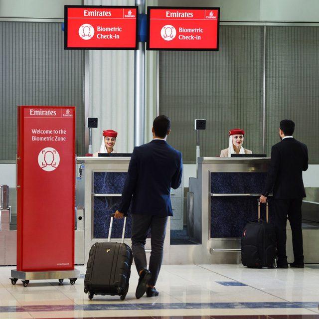Emirates ruta biométrica
