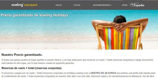 vueling holidays