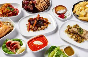 Delta preseselección menú en Business