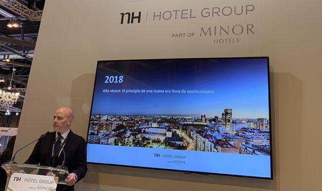 NH Hotel Group Fitur 2019 Minor Hotels Ramón Aragonés