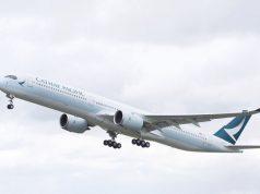 cathay pacific a350-1000 ruta Barcelona Hong Kong