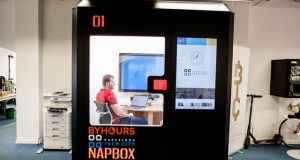 salas de reuniones portátiles byhours napbox