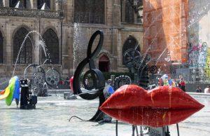 Fontaine Stravinsky_París