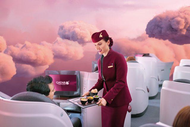 Qatar Airways ventajas clientes business