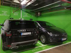Madrid Marriott Auditorium punto de carga eléctrico