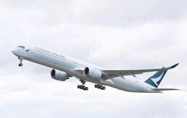 Cathay Pacific a3500-1000 ruta Barcelona-Hong Kong