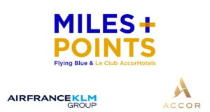 Accor Air France KLM programa Miles + points