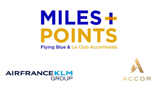 Accor Air France KLM programa Miles + points