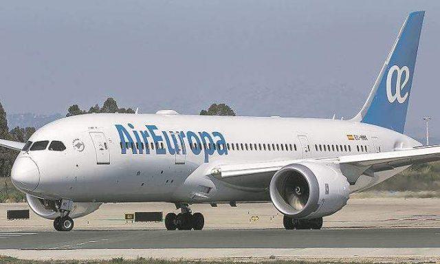 Air Europa código compartido Aeroméxico Aeroflot Air Serbia