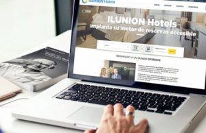 Ilunion Hotels web accesible