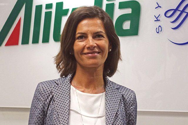 Emiliana Limosani Alitalia