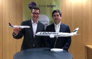 Finnair código compartido LATAM