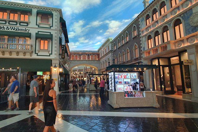 Tiendas del Gran Canal de The Venetian Las Vegas