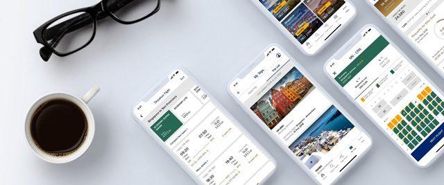 Singapore Airlines nueva app