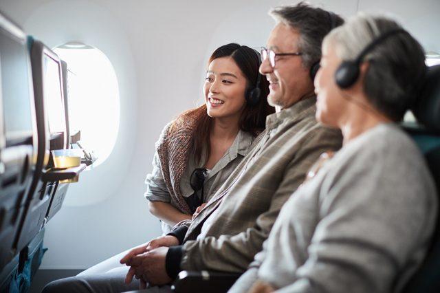 Cathay Pacific Entretenimiento a bordo