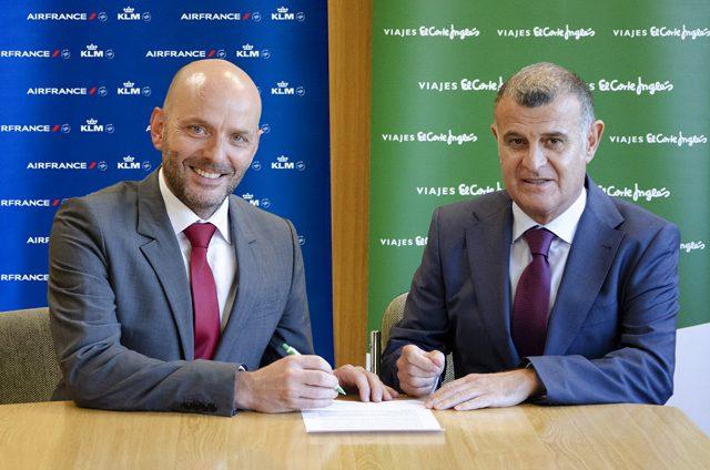 Certificación NDC Air France KLM Viajes El Corte Inglés
