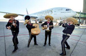 Emirates ruta a México vía Barcelona