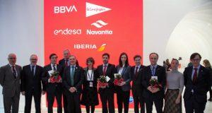Iberia huella de carbono empresas