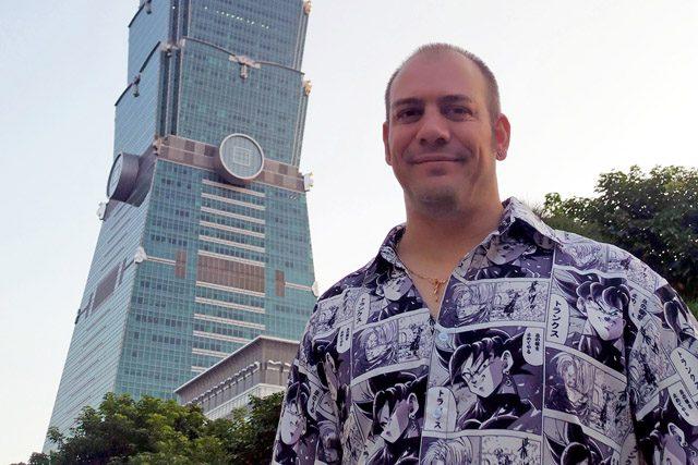 Alberto Parrón_DLink_Taipei