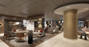 Marriott International primer complejo Marriott Sheraton Frankfurt