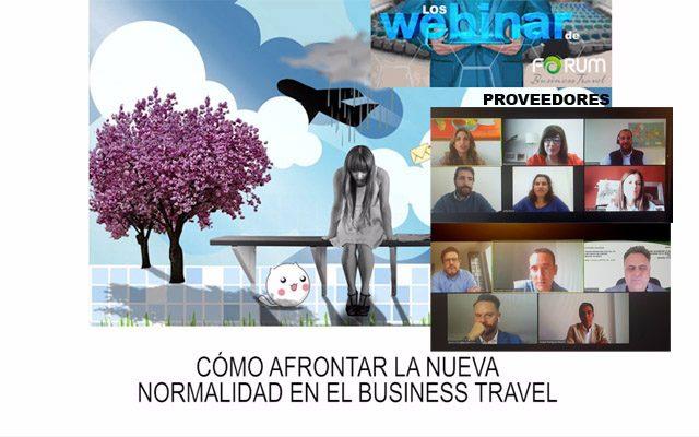 Forum Business Travel webinar vuelta a la normalidad Business Travel