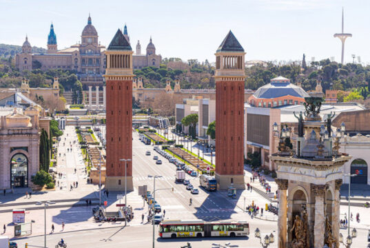 Barcelona. Fira Montjuïc