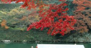 barranco de Hozu-kyo, en Arashiyama